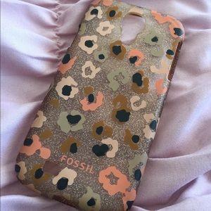 ✨Leopard Glitter Fossil Galaxy S4 Phone Cover ✨